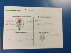 Amelia's wonderful story ideas!