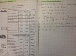 Kayla's amazing maths!