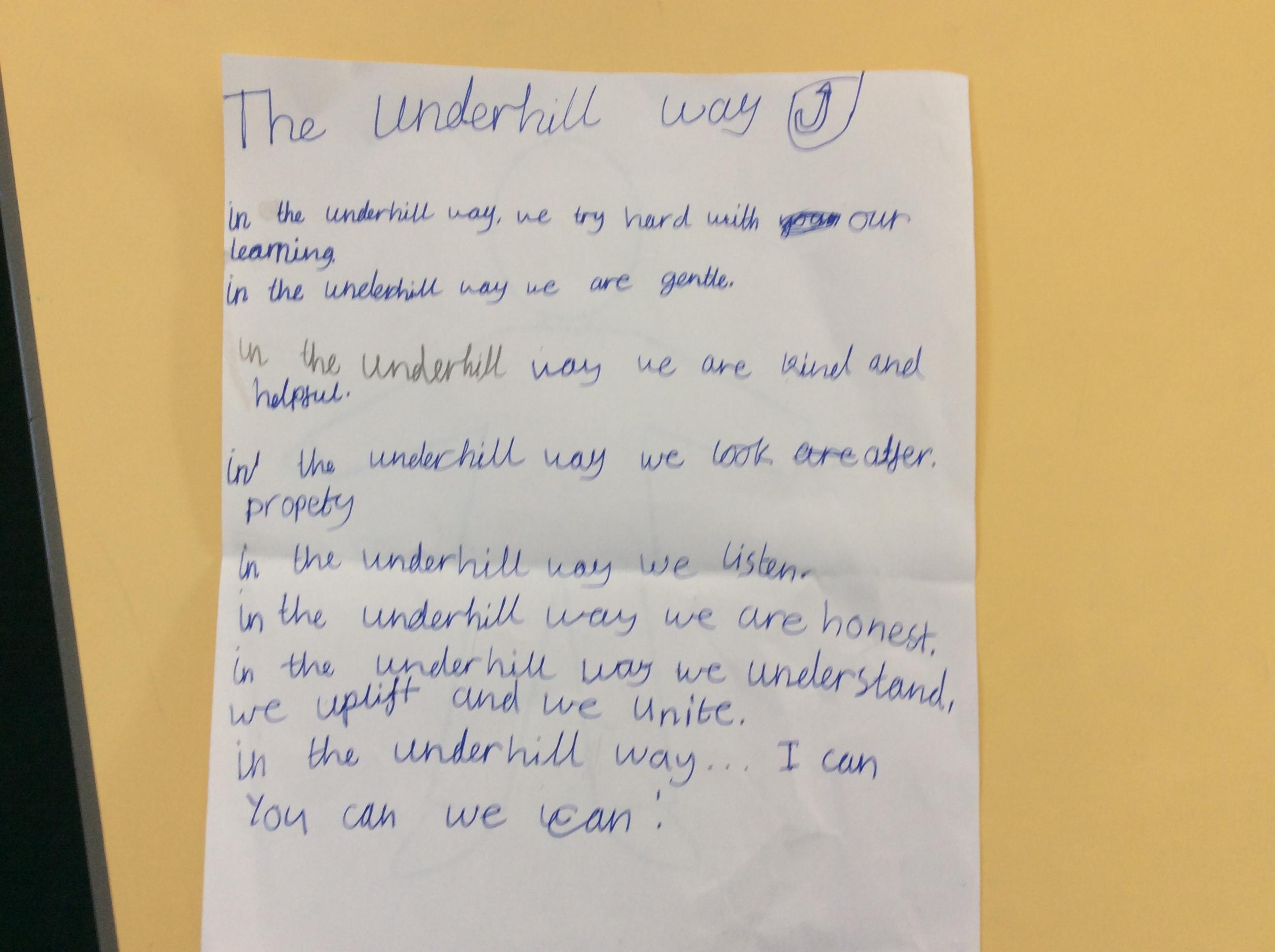 Tiffany's amazing writing!