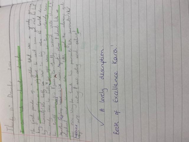 Kara's brilliant writing!