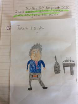Joshua's fantastic drawing!