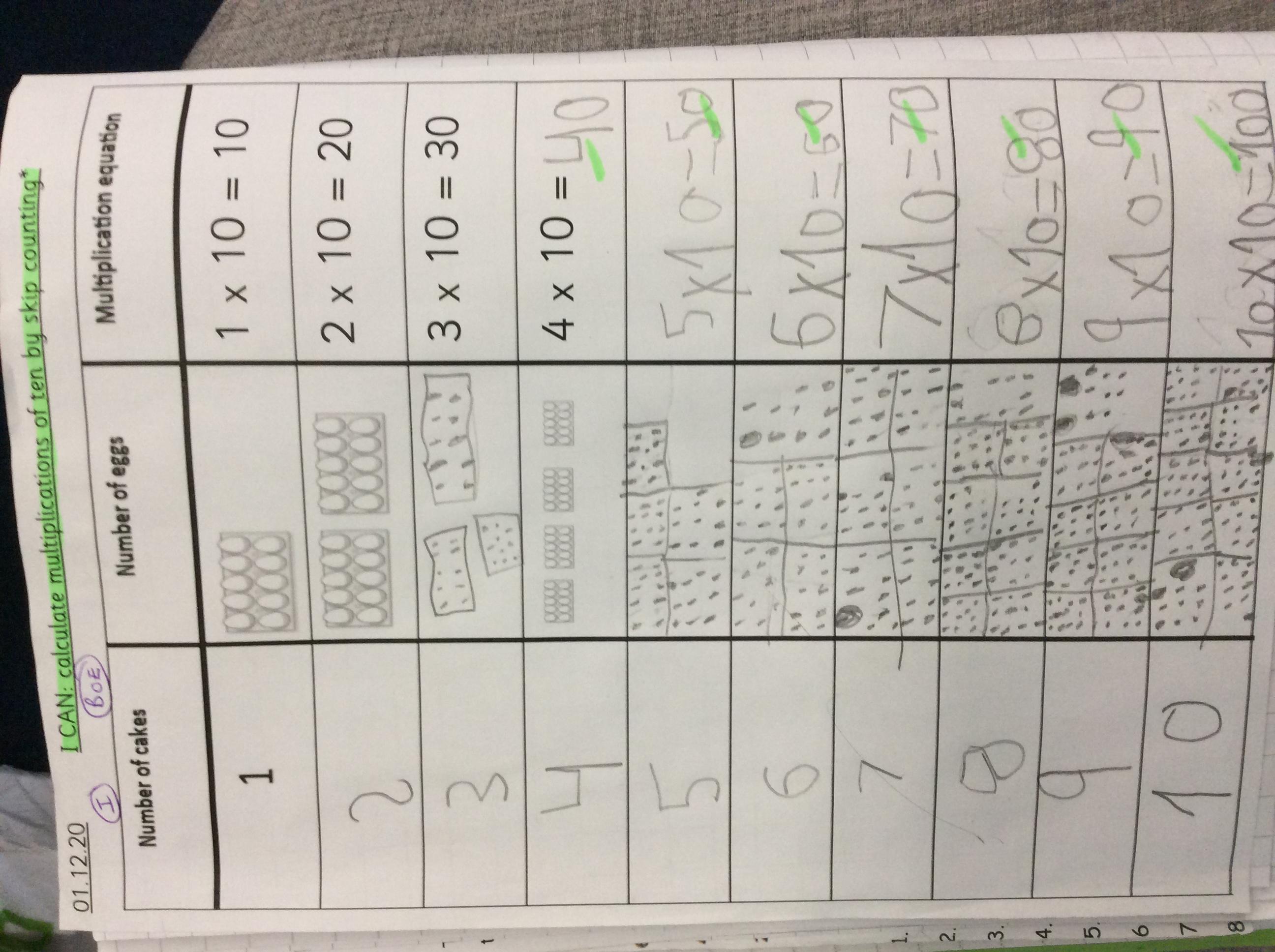 Byron's wonderful maths!