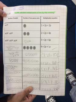 Kabir's fantastic maths!