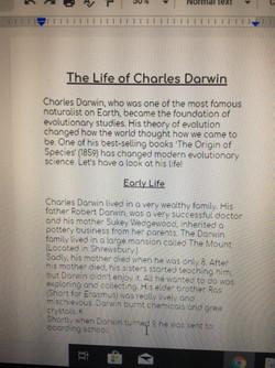 Arwen's fantastic biography 1