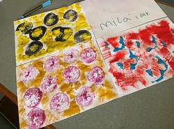 Mila's amazing art!