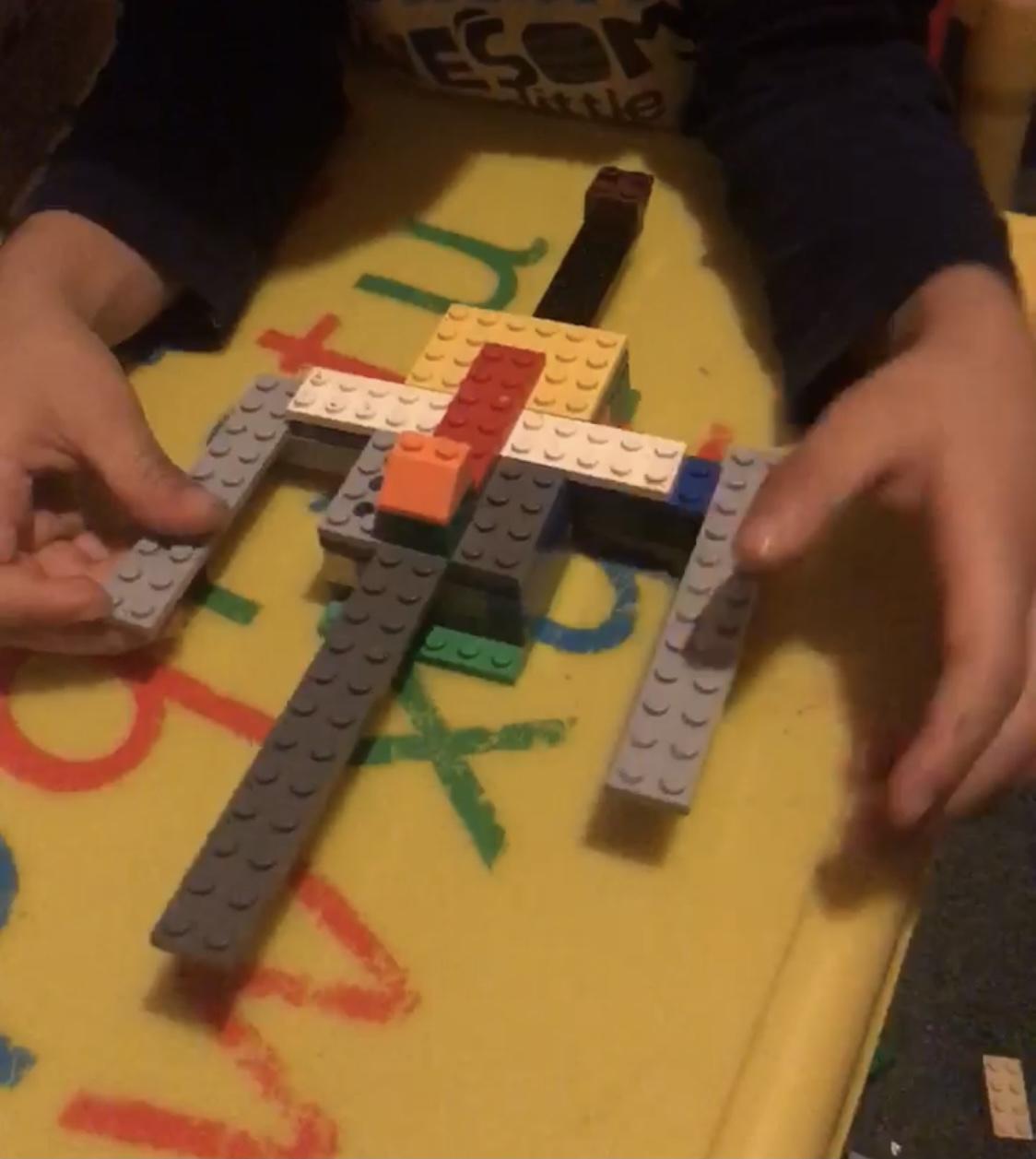 Archer's amazing lego aeroplane!