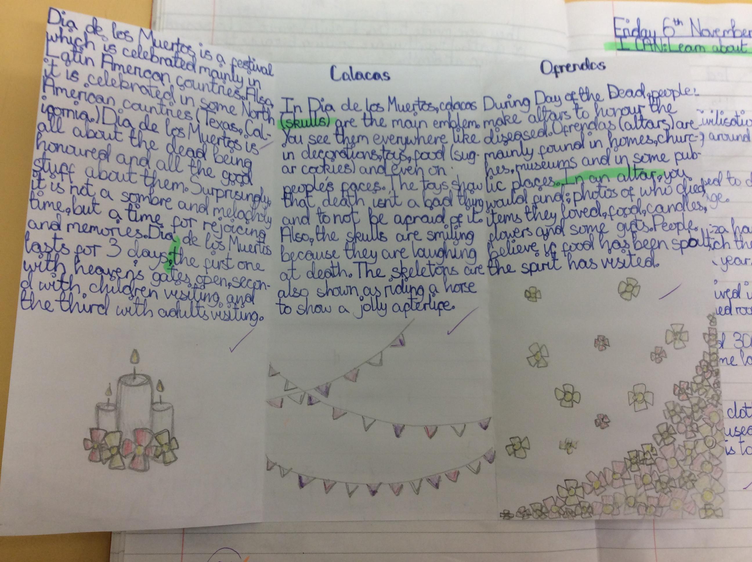 Arwen's amazing leaflet!
