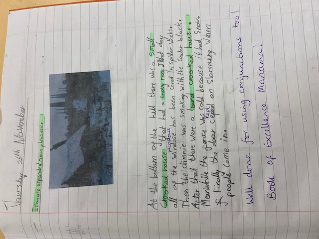 Mariama's marvellous writing!
