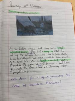 Mariama's marvellous writing!