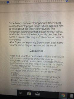Arwen's fantastic biography 3!