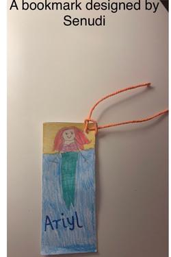 Senudi's wonderful bookmark design!