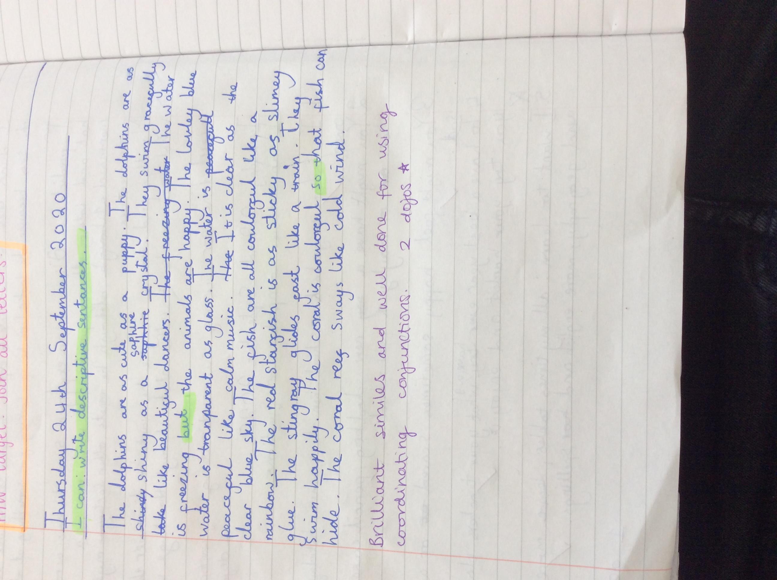 Kanon's fantastic writing!