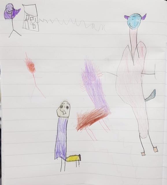 Odett's brilliant story map!