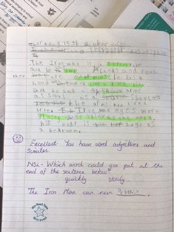 Liam's incredible writing!