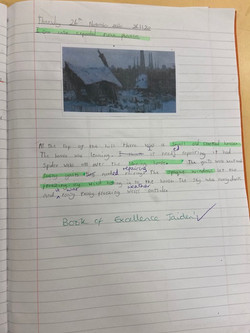 Jaiden's fantastic writing!