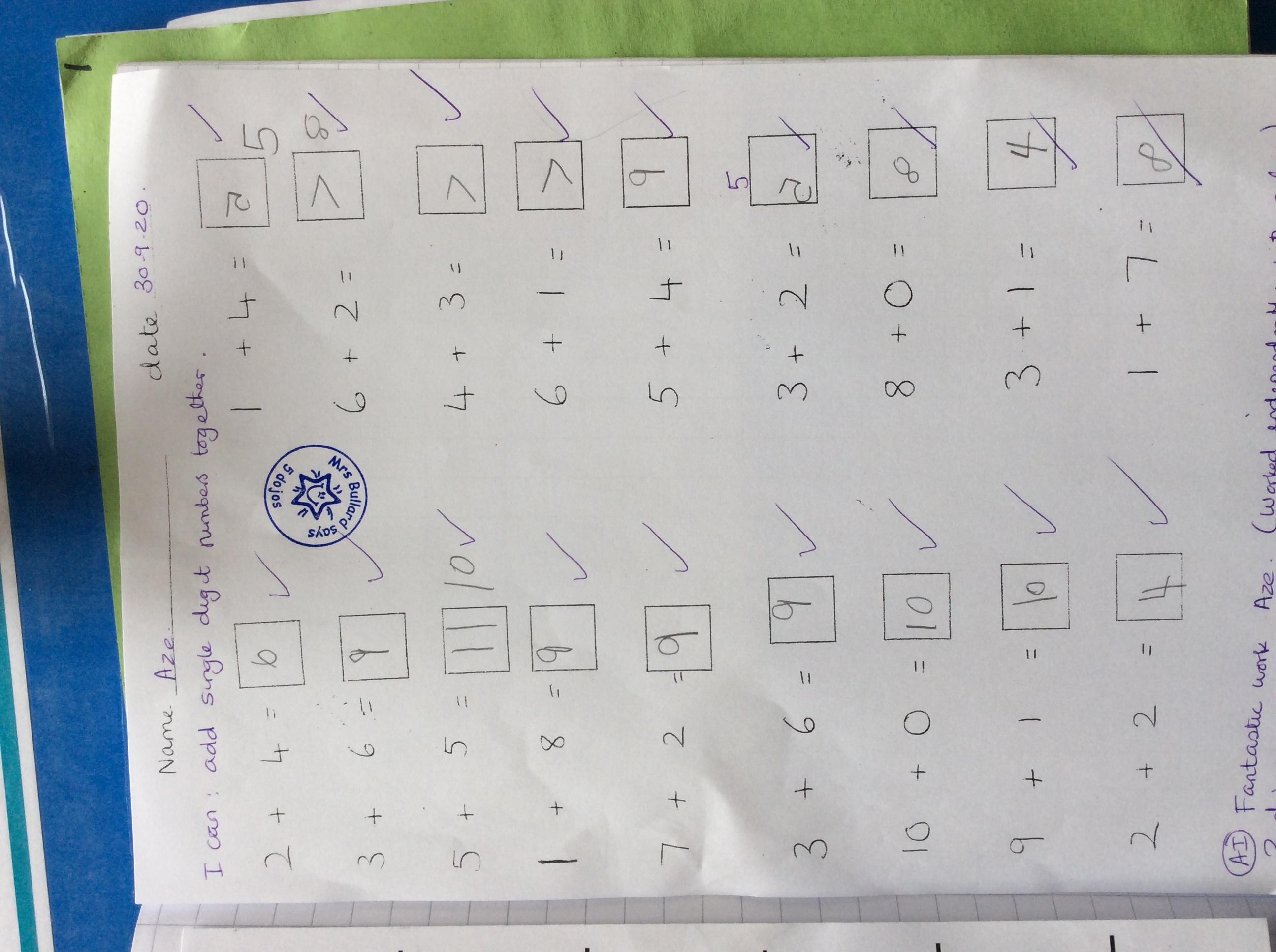 Aze - fantastic Maths!