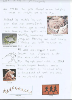 Lexi's wonderful information text!
