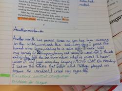 Tinaya's wonderful writing!
