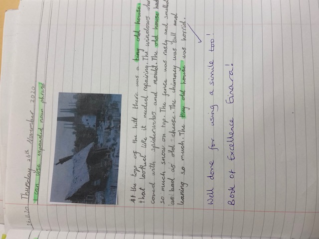 Einara's wonderful writing!