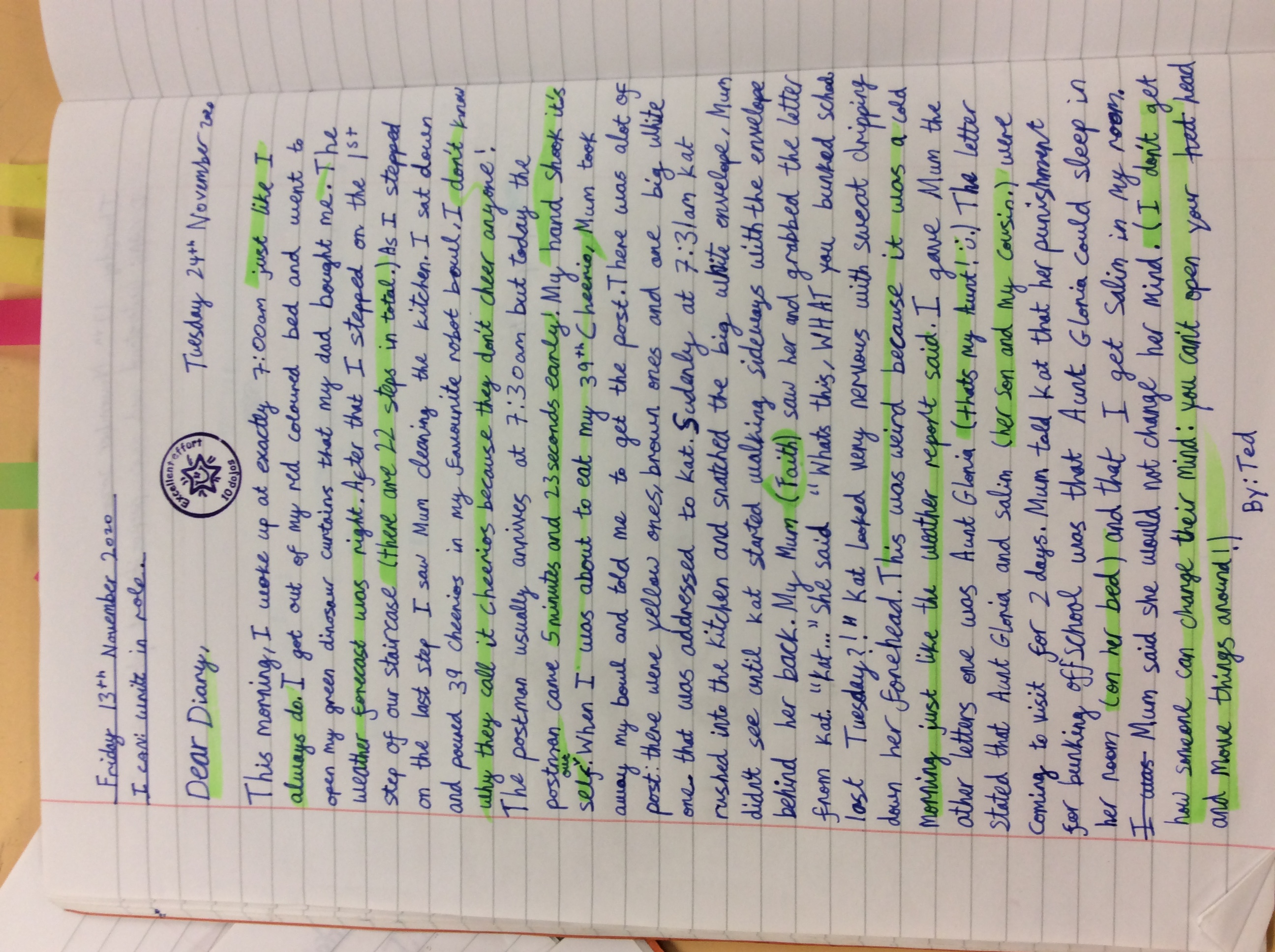 Sosan's fantastic writing!