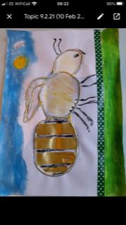 Hayden's brilliant insect art!