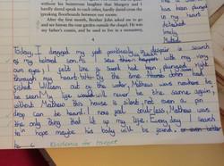 Eddie's incredible writing!