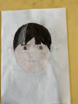 Millie's fantastic portrait!