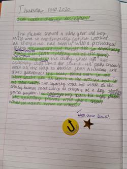 Zack's wonderful writing!