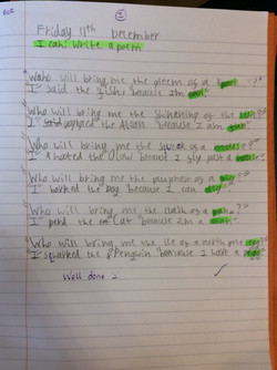 Scarlet's super writing!