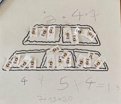 Dominic's brilliant maths!