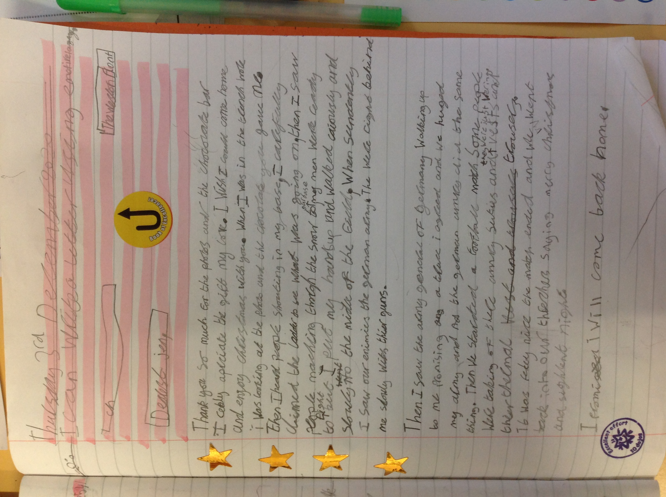 Vinul's wonderful writing!
