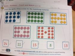 Jesiah's brilliant maths!