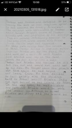 Amber's brilliant writing!