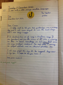 Laura's fantastic writing!