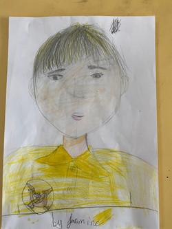 Jasmine's wonderful portrait!