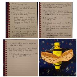 Joshua's fantastic homework!