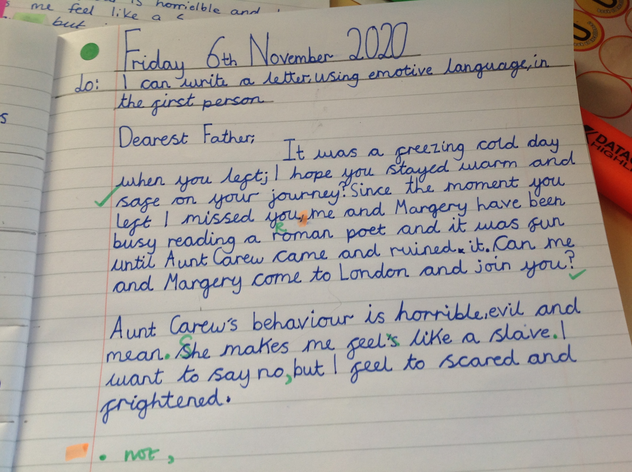 Diana's incredible writing!