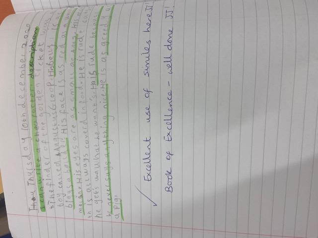 JJ's amazing writing!