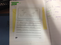Victoria's brilliant writing!