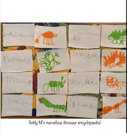 Teddy's brilliant dinosaur encylopedia!.