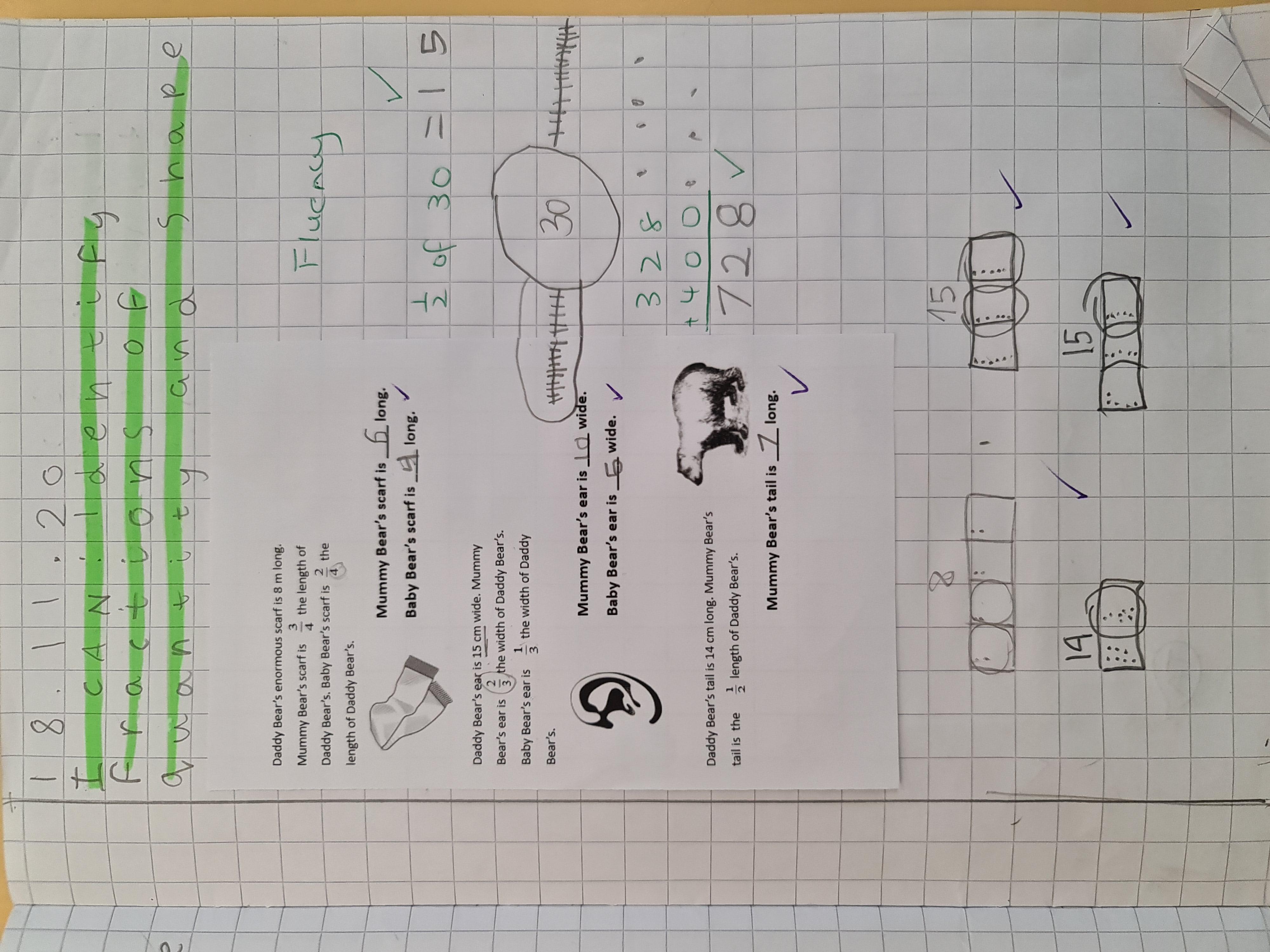 Suheyla's brilliant maths!