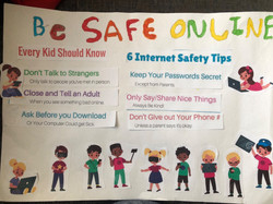 Nethul's excellent online safety poster!