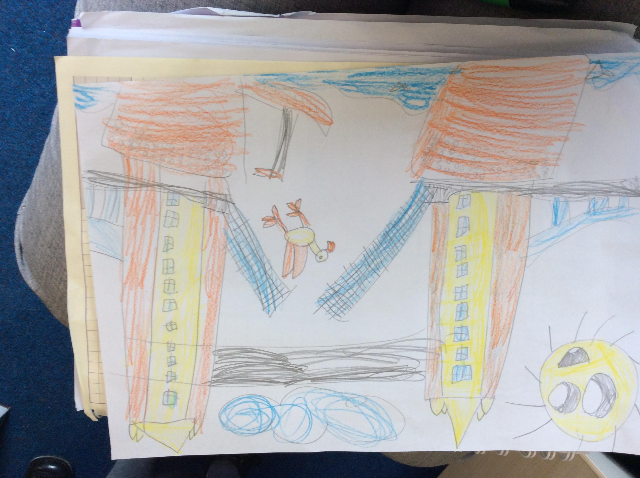 Ella's fabulous drawing!