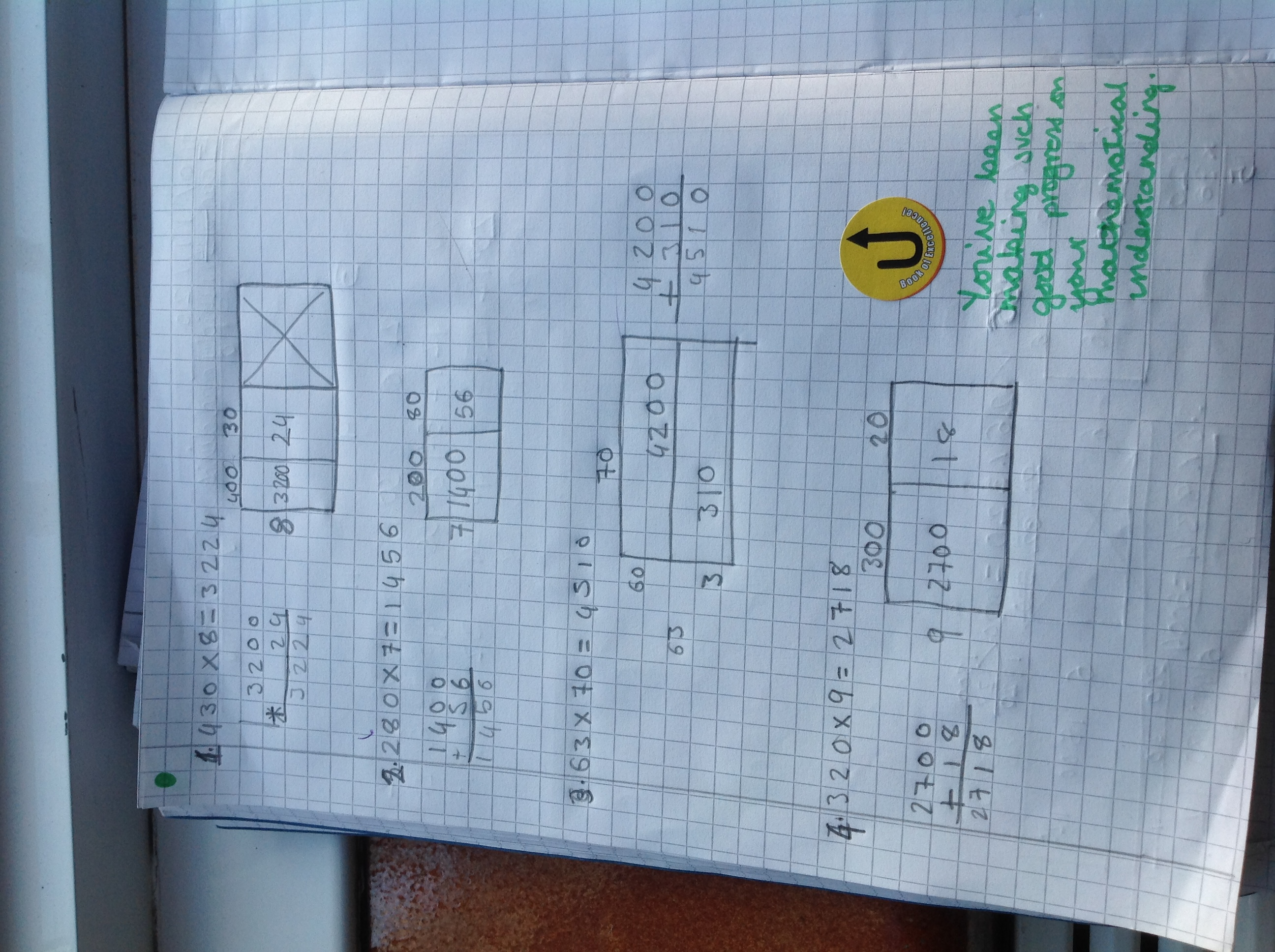 Arina's wonerful maths!