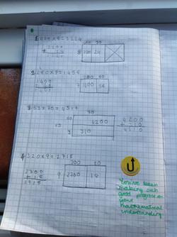Arina's wonerful maths!