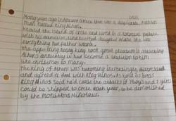 Lewis's brilliant writing!