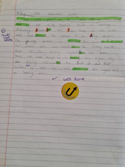 Romesa's brilliant writing!