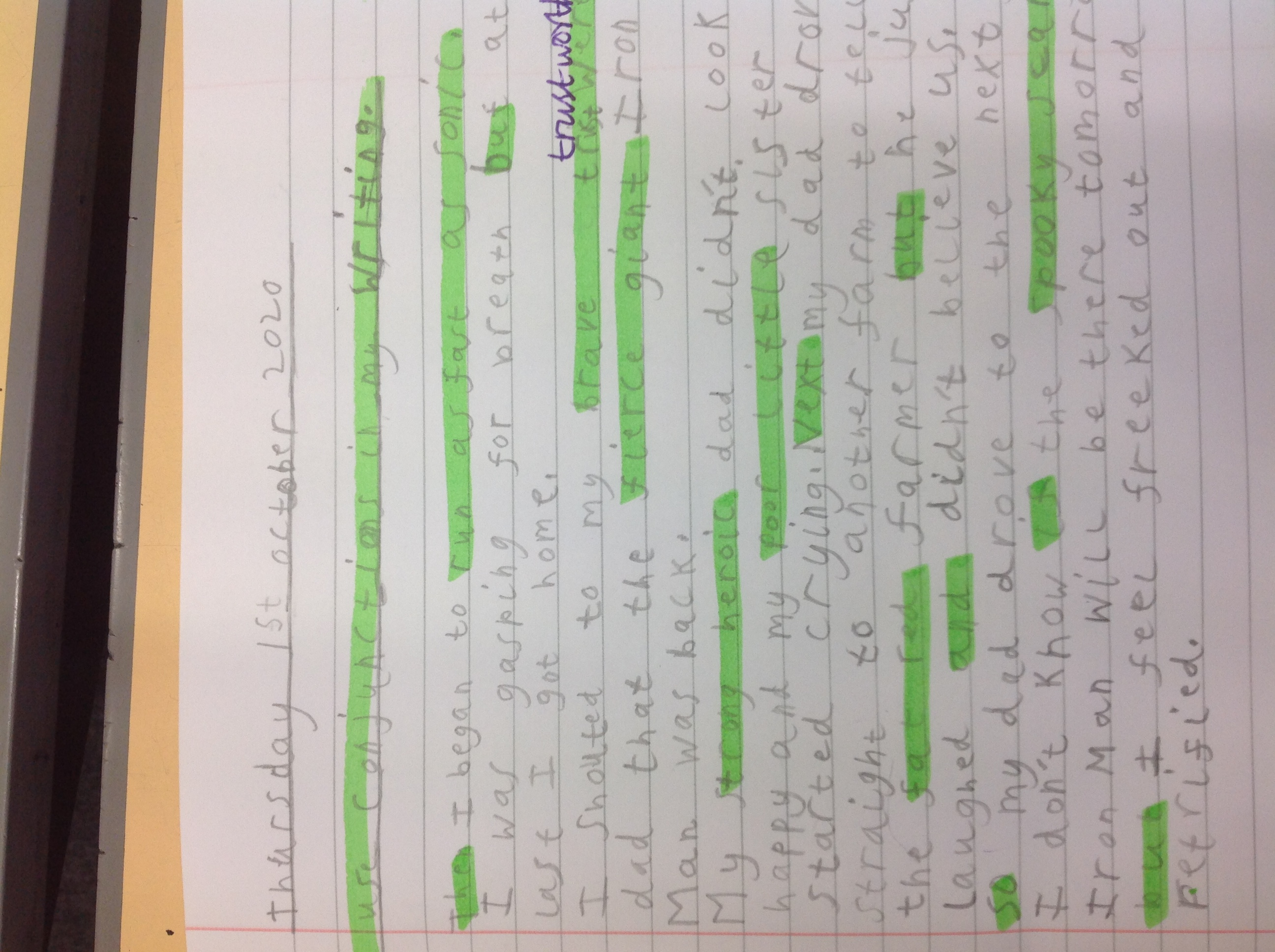 Mundhir's wonderful writing!