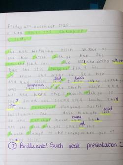 Darcie's brilliant story!