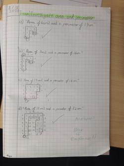 Amelie's wonderful maths!